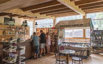 Accueil et boutique | Empfang und Boutique